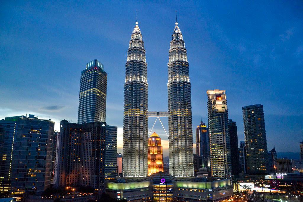 Ciudad Kuala Lumpur Torres Petronas